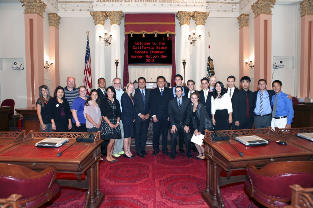 california state senate group picture