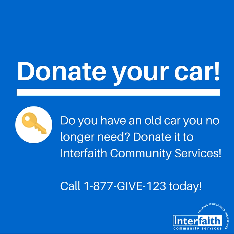 Interfaith Community Services » Donate Your Car To Interfaith