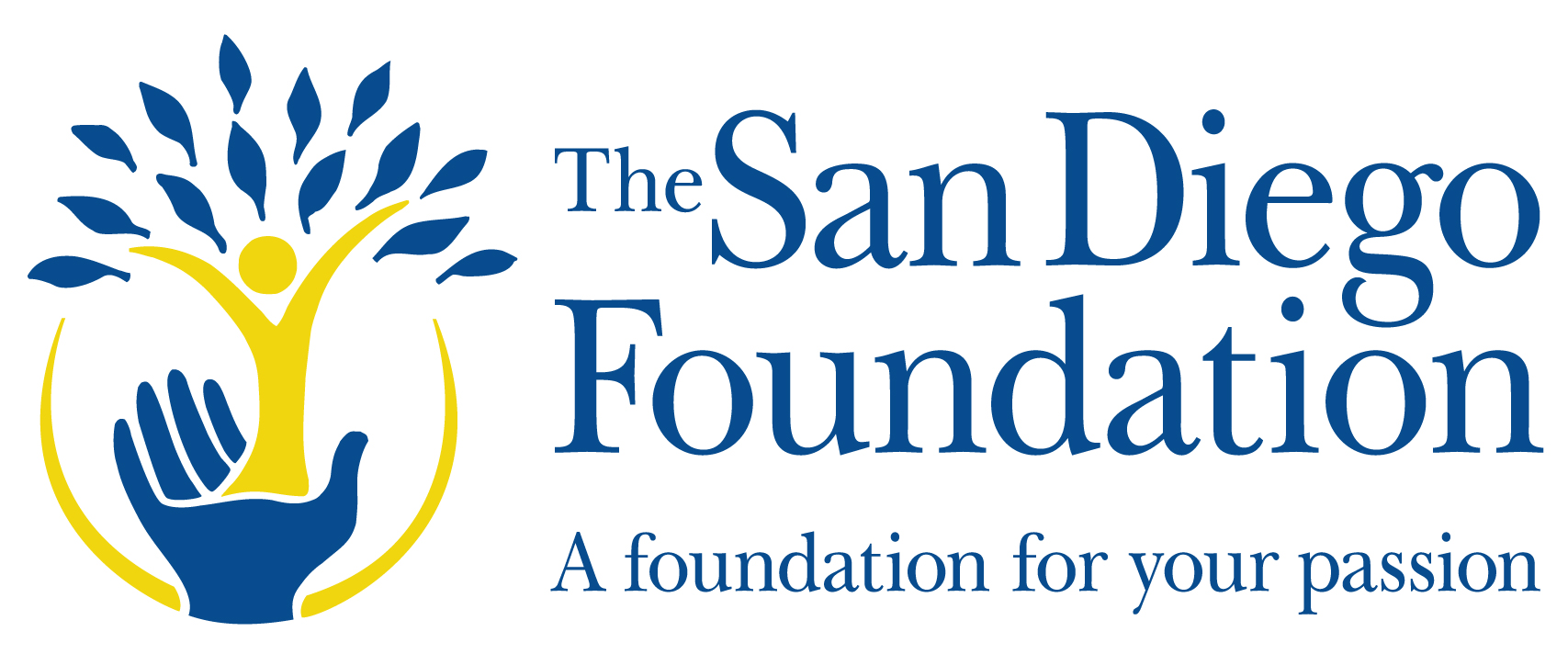 the san diego foundation a foundation for your passion logo