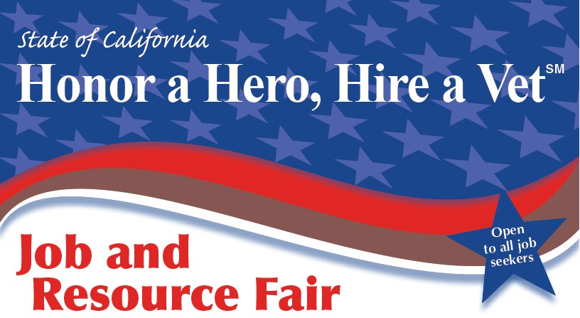 honor a hero hire a vet job and resource fair banner