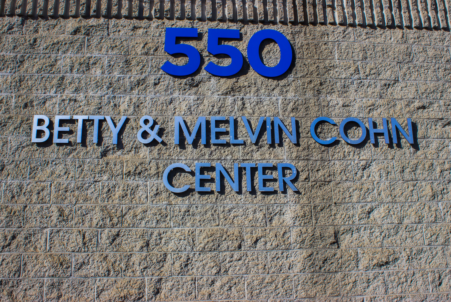 550 Betty and Melvin Cohn Center